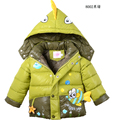Free Shipping Children'sClothing wadded jacket cotton-padded jacket boys girls Warm Cartoon for baby winter thickening outerwear