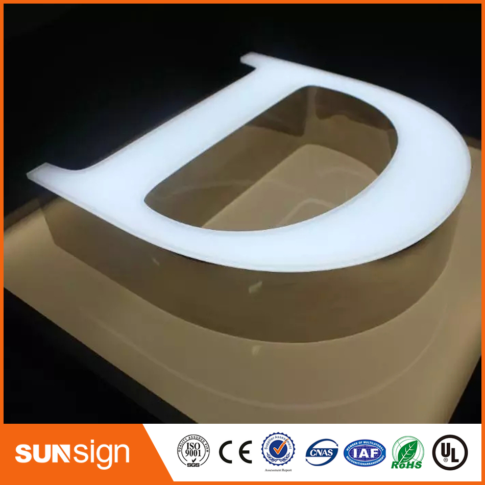 Custom Outdoors Store Advertising Salon Led Signs