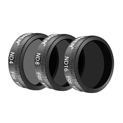 Neewer DJI Mavic Air Lens Filter Kit - 3 Pieces Pro Neutral Density Filters ND4 ND8 ND16 Filter Made of Multi Coated Waterproof