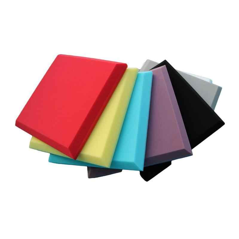 Sound Absorbing Soundproofing Foam Home Studio Acoustic Sound Treatment Absorption Wedge Tile Polyurethane Foam