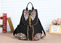 2017 New Coming Butterfly Appliques Multi Use Shell Bags Top Quatity Lady S Shopping Casual Cover