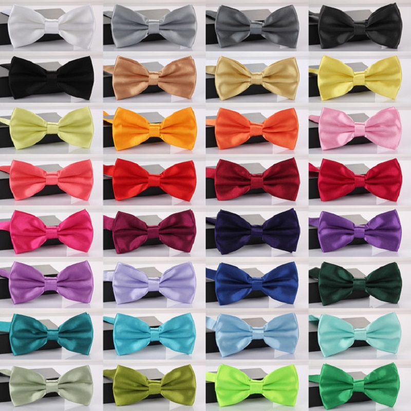 HOOYI 2019 Bow Ties For Men Wedding Bowtie Mariage Business Gravata Party Shirt Polyester Handmade Gift Butterfly