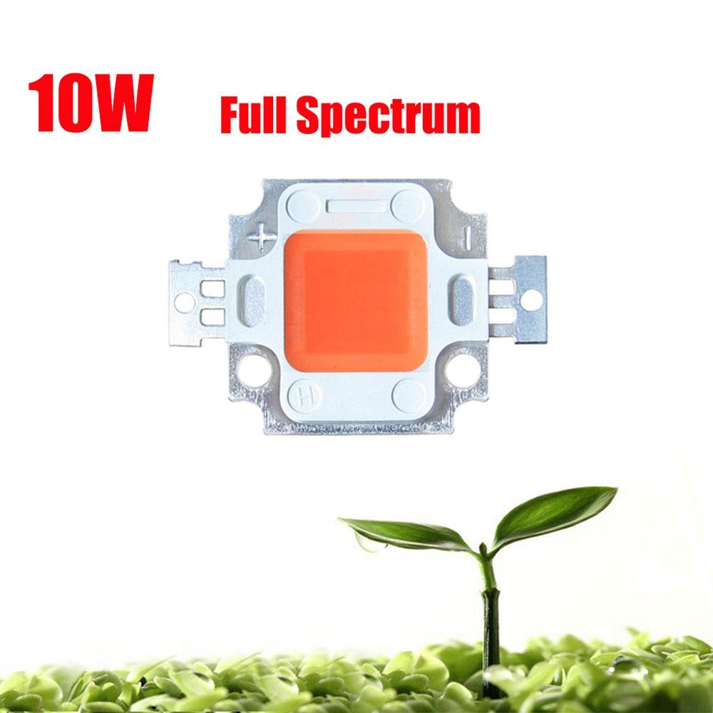 10 ชิ้น / ล็อต 45mil 10 วัตต์พลังงานสูงเต็มสเปกตรัม 380 ~ 840nm SMD LED เติบโตชิป EPISLEDS แสงโคมไฟสำหรับพืชเติบโต