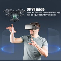 2018 new aerial photography HD RC drone square smart rc helicopter can carry vr glasses experience fpv flight