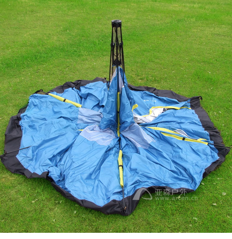 Fully automatic outdoor c&ing tent tourism tents 6 8 hexagonal big tent/6 8persons large family automatic c&ing tent-in Tents from Sports ... & Fully automatic outdoor camping tent tourism tents 6 8 hexagonal ...