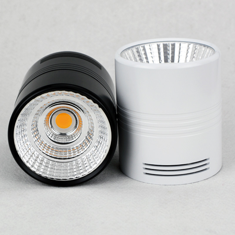 New Arrival Surface Mounted LED Downlight 7W 9W 12W 15W 20W 30W  COB Ceiling Downlight 110V 220V 240V Free Shipping