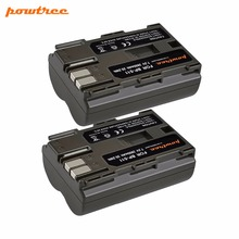 2X 2800Mah BP-511 BP511 BP-511A BP511A Digital Camera Battery AKKU For Canon EOS 40D 300D 5D 20D 30D 50D 10D D60 G6 L10