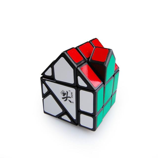 Plastoc Dayan Bermudas House II Cubo Mágico Negro Perfecto Kid Regalo Juguete Educativo del Rompecabezas Profesional cubo mágico para Puzzles