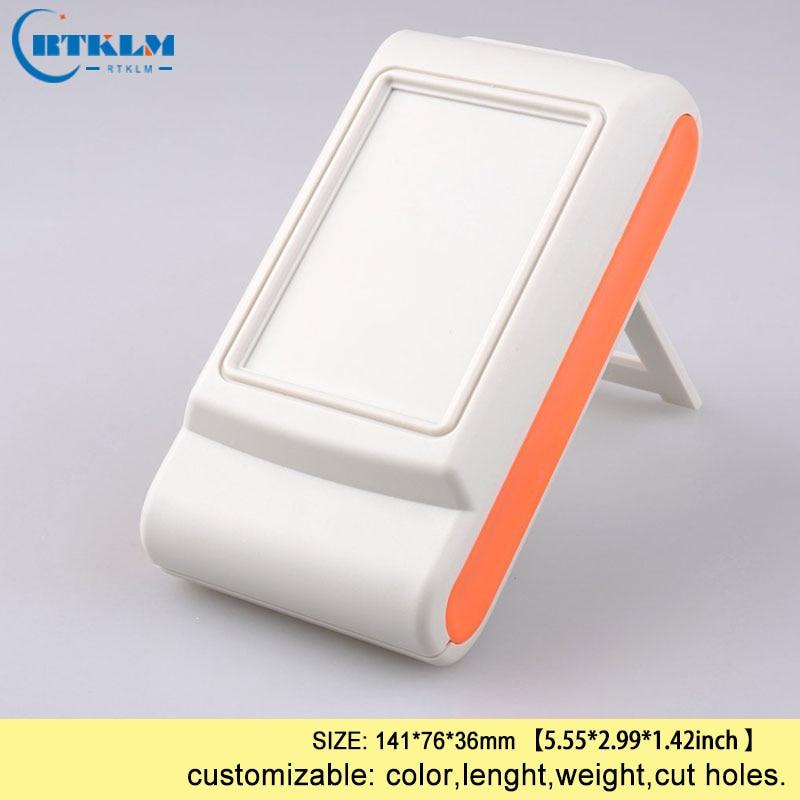 Handheld Electric Box Plastic Enclosure Abs Plastic Junction Box Diy Project Electronic Handheld Plastic Desktop Box 141*76*36mm