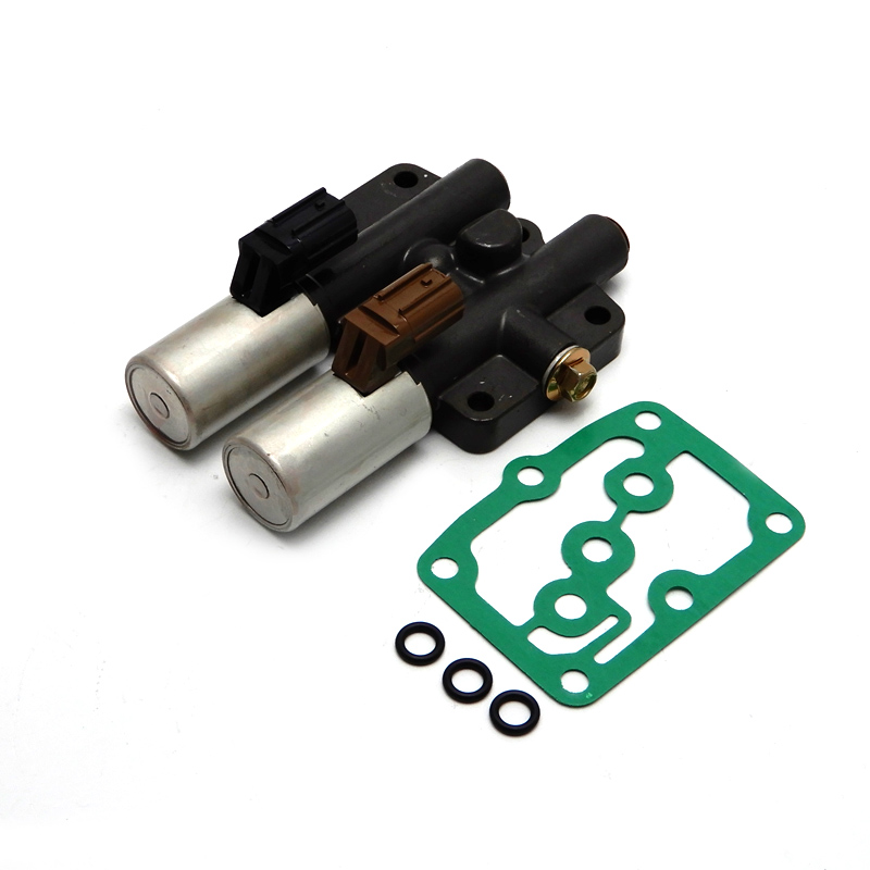 ФОТО 28250P6H024 For Honda Transmission Dual Linear Solenoid with Gasket 28250-P6H-024 (99113)