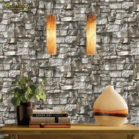 beibehang 3d wallpaper roll Chinese style dining room mural stone brick design background wall vinyl wallpaper for living room