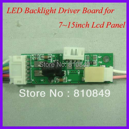 все цены на  LED driver board for 7~15inch lcd panel LED boost Board output voltage 6-30V  онлайн