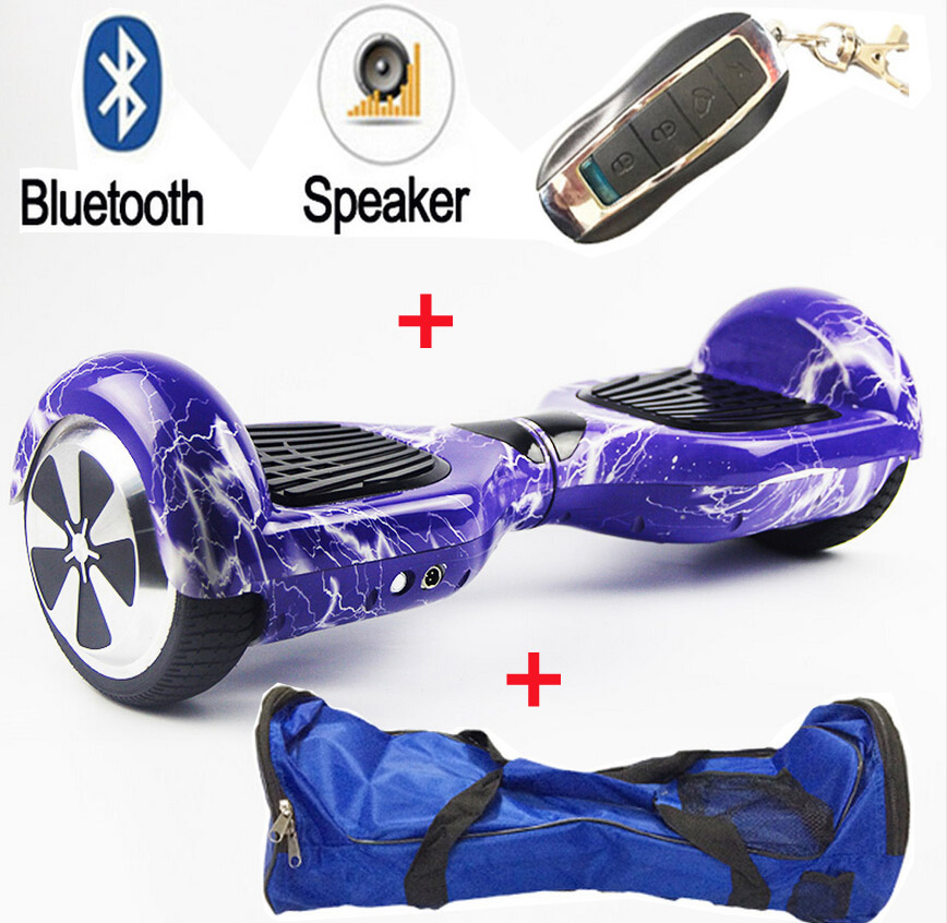 MAOBOOS 6.5inch Electric scooter with a remote Hoverboard Electric Unicycle Skateboard Standing Drift Board for outdoor playing
