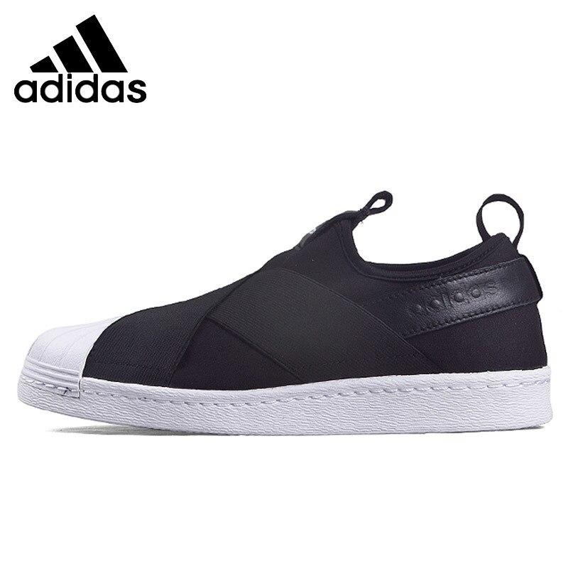 Prix pour ADIDAS Original Nouvelle Arrivée SUPERSTAR Femmes Planche À Roulettes Chaussures Respirant Confortable Étanche Sneakers Pour Hommes # S81337