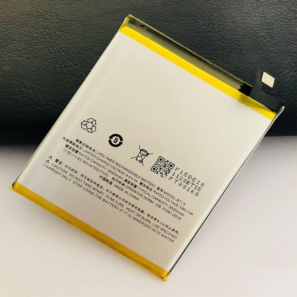 20 шт./лот 3000 мАч BT15 запасная батарея мобильного телефона для Meizu M3S BT15 мобильный телефон литий-ионная Внутренняя Аккумуляторная Батарея