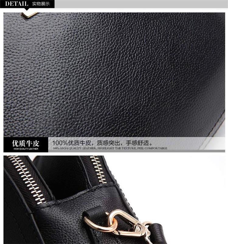 New 2015 Fashion Women Genuine Leather Messenger Bag Shoulder Bags Crossbody  Bolsos Carteras Mujer Marca Handbags Famous Brands17