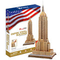 World Famous Building 3D Puzzle The Empire State Building Model Toy Puzzle Education Puzzle Toys Gifts