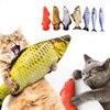 Pet Soft Plush 3D Fish Shape Cat Toy  1