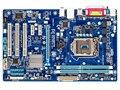 Оригинал материнская плата для Gigabyte GA-P61A-D3 DDR3 LGA 1155 P61A-D3 доски USB 3.0 16 ГБ H61 Desktop motherborad Бесплатная доставка