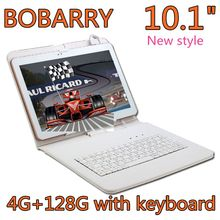 BOBARRY 10.1 inch 4G tablet Octa Core 4GB RAM 128GB ROM 8 Cores andriod 6.0 8MP 1280*800 IPS Kids Gift MID Tablets 10.1