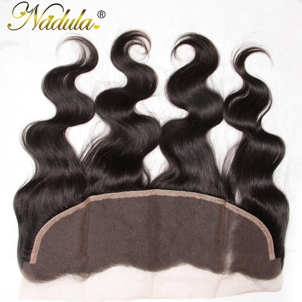 Nadula Hair 13x4 Lace Frontal Body Wave Hair   Hair s 100%  s Closure 10-20INCH 4