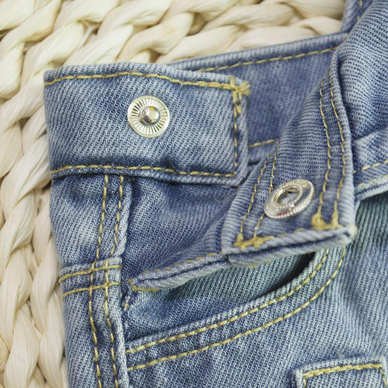 7a826515bf6d HSID1701007--4Infant Denim Jumpsuit Toddler Boy Girl Suspender Jeans Shorts  Kid Rompers Bodysuit Pocket Straps