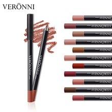 12Pcs/set New Makeup Lip stick lip Liner Pencils Matte Lipliner Pen set Easy to Wear Waterproof for Women Nude Color