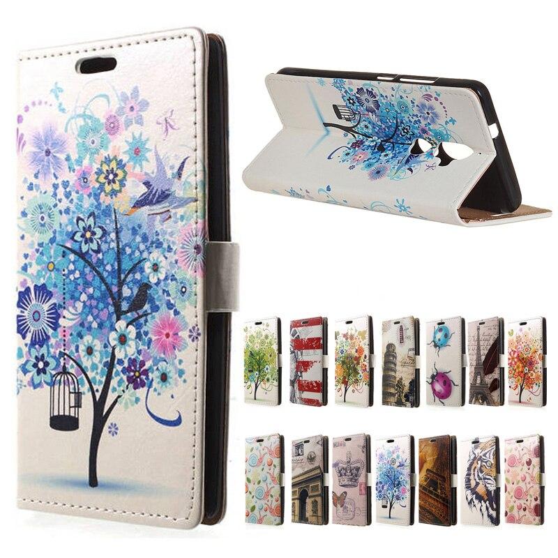 Hanman Flip cover For Lenovo K8 Dual SIM wallet leather case For Lenovo K8 Dual SIM Mobile phone Case Coque Funda