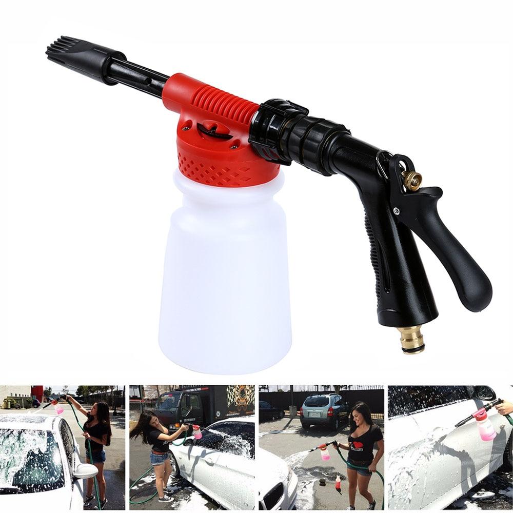 Back To Search Resultshome Car Washer High Pressure Snow Foamer Water Gun 900ml Car Cleaning Foam Gun Washing Foamaster Gun Water Soap Shampoo Sprayer