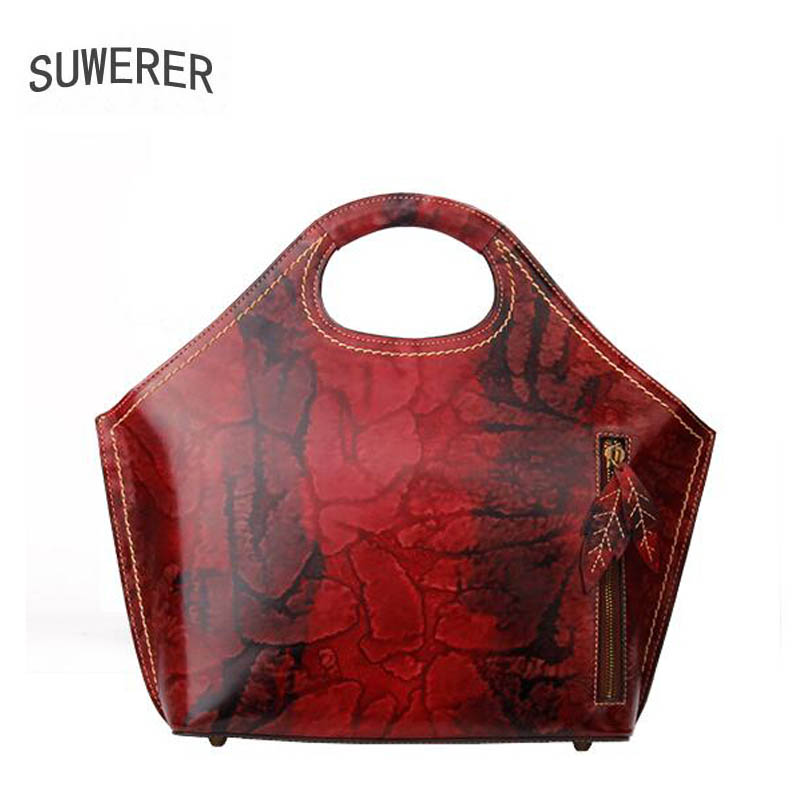 Suwerer Genuine Leather women bags for women 2017 new luxury handbags women bags designer bags handbags women famous brands suwerer new genuine leather women bags special craftsmanship fashion luxury handbags women bags designer women leather handbags