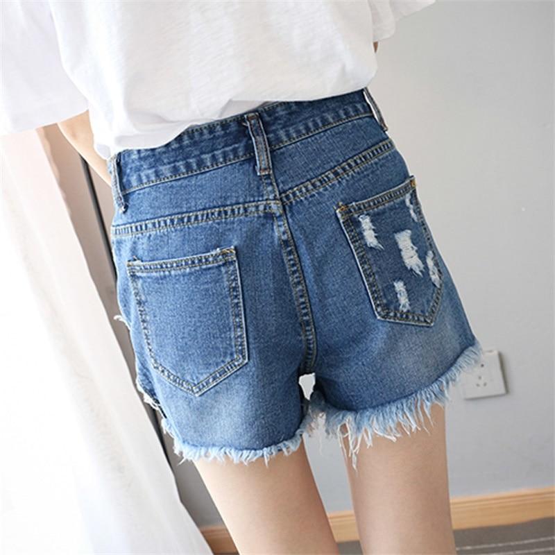 Pantalones cortos de cintura alta de verano Pantalones cortos de - Ropa de mujer - foto 2