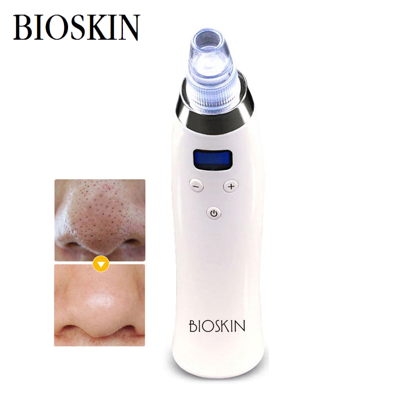 BIOSKIN Blackhead Sucking Machine with Vacuum Pressure Adsorption to Sucking  Blackhead and Oil to Removing Acne and Horny