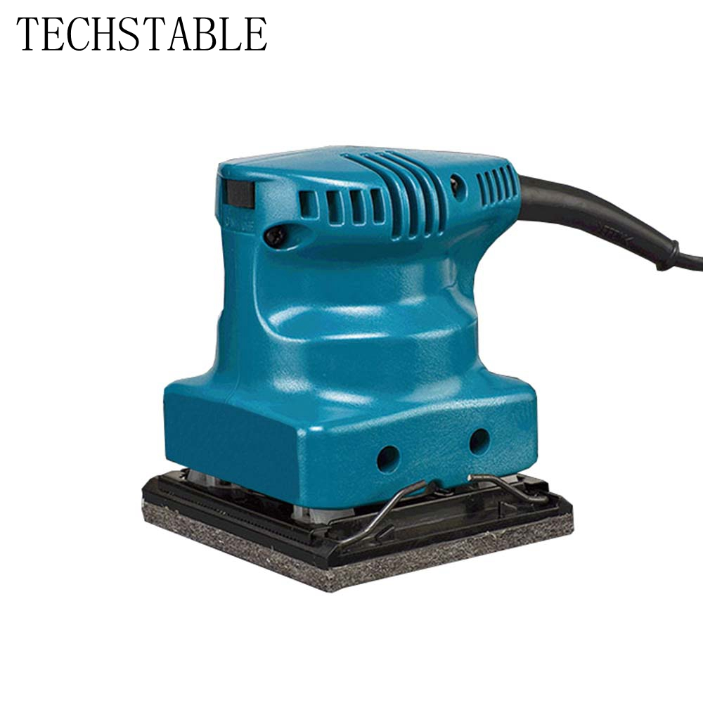 TECHSTABLE 220V Small portable sandpaper machine Flat sanding machine Woodworking electric sandpaper machineTECHSTABLE 220V Small portable sandpaper machine Flat sanding machine Woodworking electric sandpaper machine