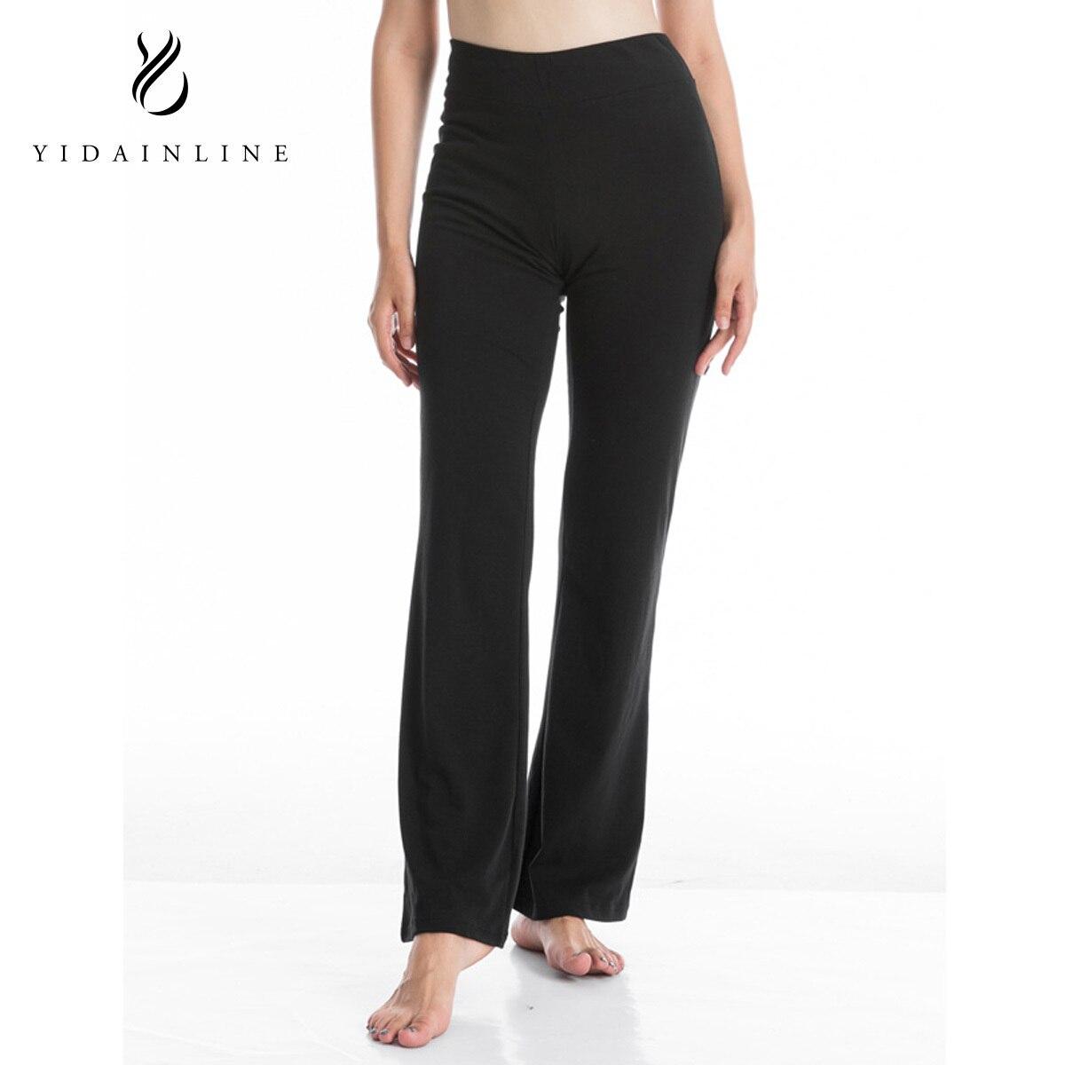 2018 New Loose Yaga Wide Leg Pants Full Length Fitness Sports Trousers ...