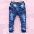 7-12 лет бесплатная доставка хорошее качество хлопка Мальчиков брюки карандаш длинные брюки отдыха детей джинсы Брюки для подросток WA0a4