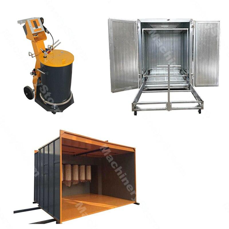 US $5000.0 |Customizable Automatic /Manual Powder Coating System Batch on