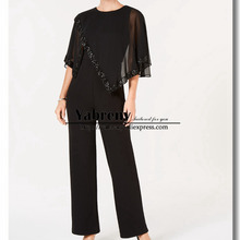 Yabreny Chiffon Poncho Mother of the bride Jumpsuit Women. US  119.00    piece Free Shipping 0beabe486f1c