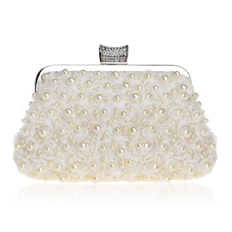 Evening Bag, Artificial Pearl Clutch Purse Handbag, Elegant Shoulder Bag for Women кипятильник auto standart 12в 120вт heavy duty
