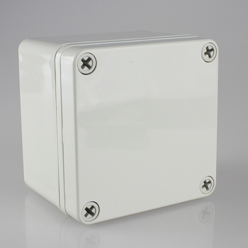 цена на 100*100*75MM IP67 Waterproof Plastic Electronic Project Box w/ Fix Hanger Plastic Waterproof Enclosure Box Housing Meter Box