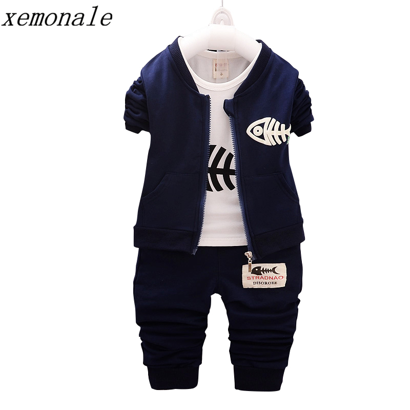 Spring Autumn Brand Fashion Children Boys Girls Clothes Girls Long Sleeves Jacket Tshirt Pants 3 Pcs Sets Kids Clothing Suit new spring and autumn kids boy children sports suit girls clothing set 2 pcs brand hoodies long pants for boys aged 3 11