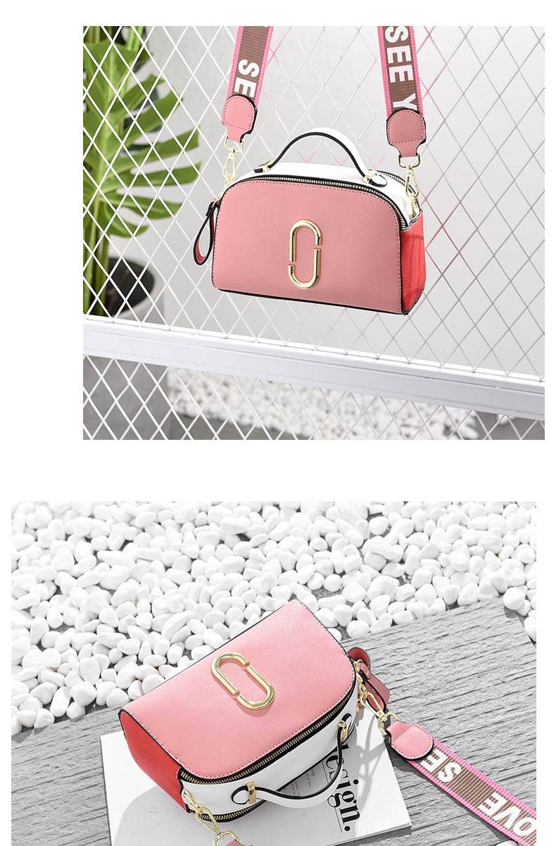 Shoulder Elegant Stitching Messenger 13