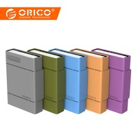 ORICO PHP 5S GY Simple HDD Protector Box for 3.5 HDD Case with Waterproof Function 5PCS/LOT Gray
