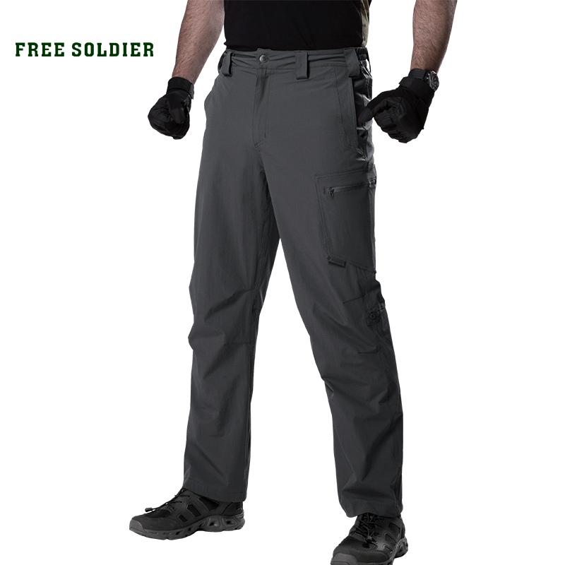 FREE SOLDIER outdoor sport tactical military pant lightweight breathable men s cargo trousers for camping hiking