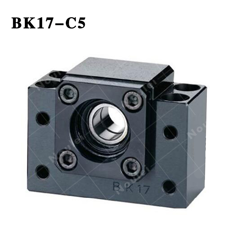 Ball screw Support Unit  Fixed-side ( BK17 ) BK17-C5 Black ball screw support bearings zkln2068 2rs