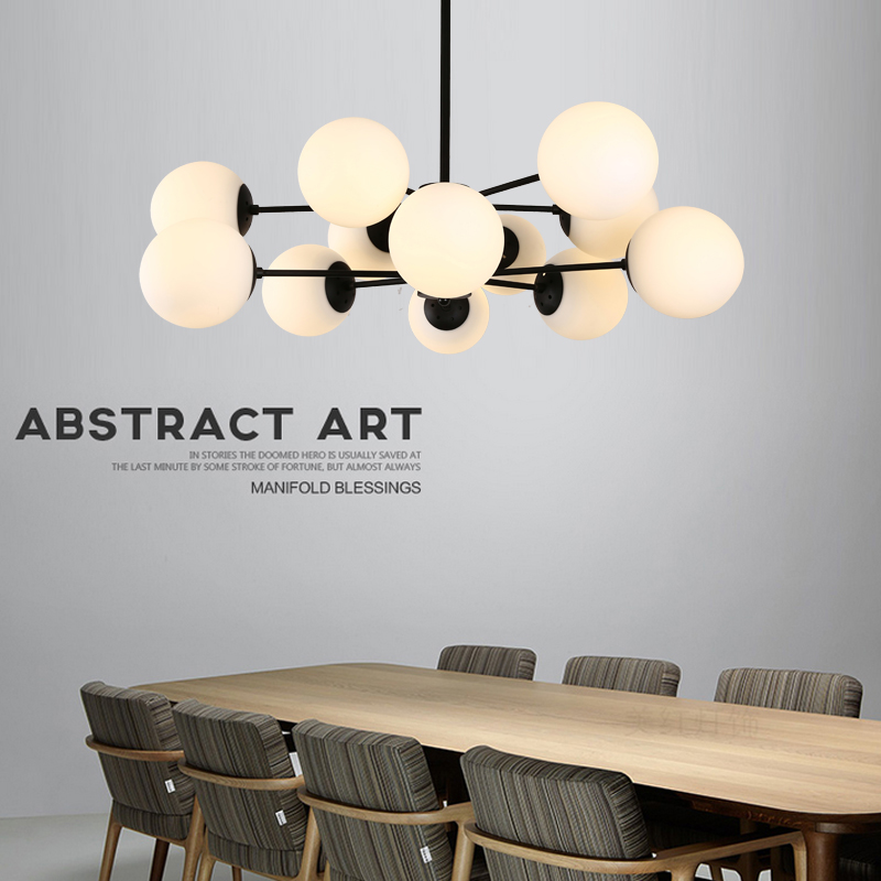 Modern Magic Beans Dna Res Pendant Light Modo Jason Miller Lamps Nordic Art Deco Gl Ball Mod Hanging Lighting In Lights From