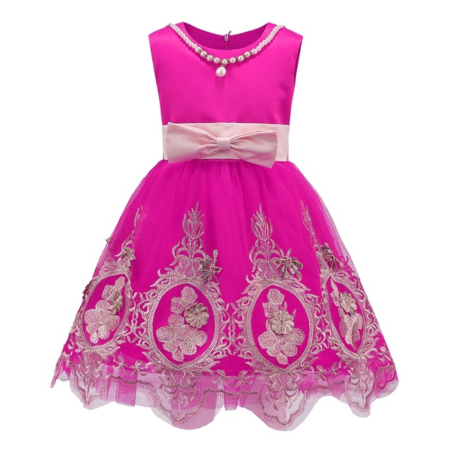 2017 New Princess Girl Dress kids Baby Girl Dress Children Clothing dress Girls Cosplay Vestido Infantis Summer Costume 3-10 Age