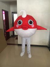 Ocean Fish Mascot Costume Cosplay Theme Mascotte Carnival Costume Cartoon Character Costumes Mascot Christmas Party Suit extraterrestrial alien mascot costume halloween christmas carnival fancy costume cosplay mascotte apparel