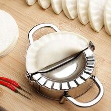 Behogar из нержавеющей стали клецки форма домашняя кухня ресторан Кондитерские инструменты аксессуары 13,5x7,5x2,5 см/5,31x2,95x0,98 дюйма