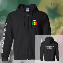 Senegal Senegalese mens hoodies and sweatshirt jerseys polo sweat suits streetwear tracksuit nations fleece zipper 2017 SEN SN