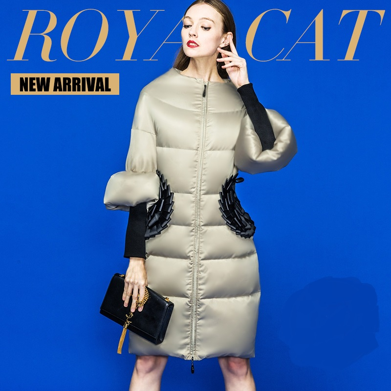 2016 Winter Jacket Women Down coat 90% Duck down Slim Outwear long coat Plus size down parka womens winter jackets and coats nina ricci юбка до колена